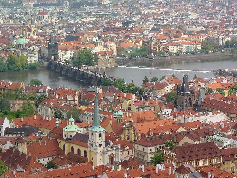 Авто-пешеходная экскурсия по Праге